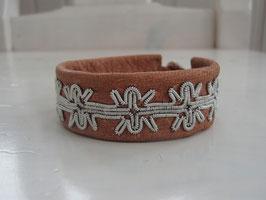 Samisk armband / サーミ族のピューター刺繍ブレスレットB-4