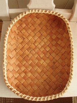 Näverkorg rektangel (XL) / 白樺樹皮のトレイ(XL)