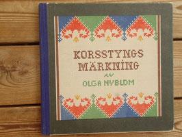 Korsstyngs Märkning / クロスステッチのイニシャル