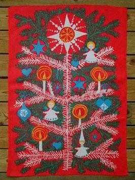 Julbonad Julgran / タペストリー クリスマスツリー