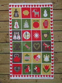 "BBduk ""Julhuset"" / クリスマスのキッチンクロス"