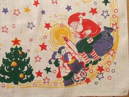 Julduk Tomte berättar saga / クリスマスクロス サンタのお話