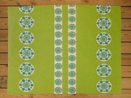 Duk  grön / 緑のクロス