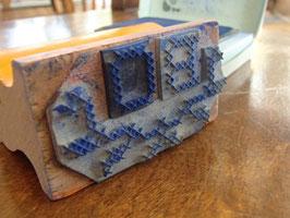 Stämpel för korsstygn / イニシャル刺繍用 スタンプ