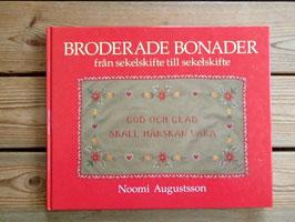 Broderade bonader / 刺繍のタペストリー
