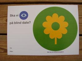 Posten Bumerangkort(blomma) / Posten 往復ハガキ(花)