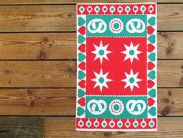 Liten julduk stjärnor och kringlor / ミニクリスマスクロス 星とクッキー