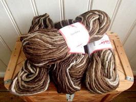 Lovikkagarn brun ombré / ローヴィッカヤーン ブラウントーン