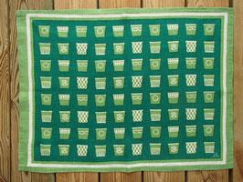 Jobs Handtrycks vintage tablett (grön) / ヨブスプリント ヴィンテージ タブレット(緑)