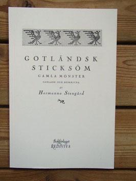Gotländsk sticksöm / ゴットランドの編物