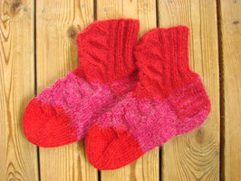 Traditionella strumpor (finska) / フィンランドの伝統靴下