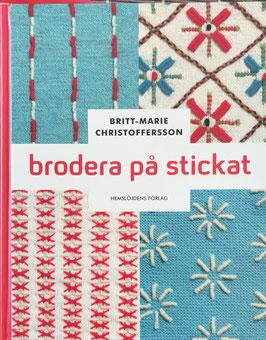 Brodera på stickat / 編んだものに刺繍をしよう