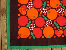 Duk m. apelsin o polkagris / テーブルクロス オレンジとキャンディー
