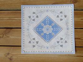 BB liten duk (blå) / BB ミニクロス(ブルー配色)