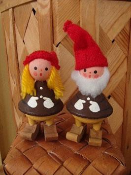Julnisse pojke&flicka / クリスマスのトムテニッセ