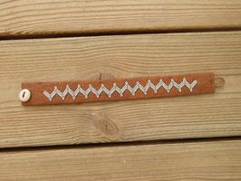 Samisk armband / サーミ族のピューター刺繍ブレスレットA-2