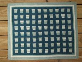Jobs Handtrycks vintage tablett (grå) / ヨブスプリント ヴィンテージ タブレット(グレー)