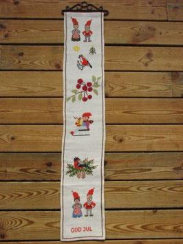 Tomte familjen vepa / 壁掛け サンタのファミリー