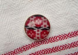 Metallknappar med dräkttyg(h) / 民族衣装の生地のボタン