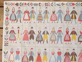 BB dräktfolk-mini / BB 各地の民族衣装の人々
