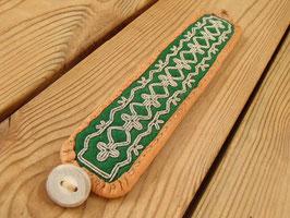 Samisk armband / サーミ族のピューター刺繍ブレスレットE-1