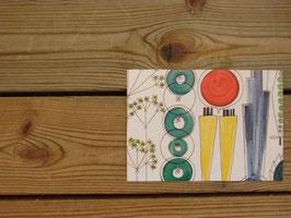 Rörstrand vykort picknick / ロシュトランド カード ピクニック