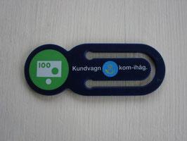 Posten klämma / Posten クリップ