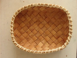 Näverkorg rektangel(S) / 白樺樹皮の長方形トレイ(S)