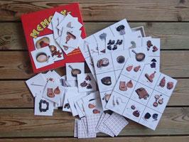 Memory kortlek med samiska föremål / サーミアイテムのメモリーカード