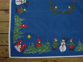 Julgran och snögubbe / もみの木と雪だるま