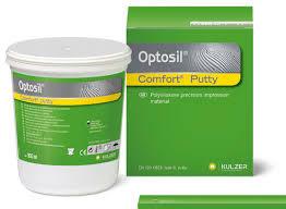 Optosil Comfort Putty. Marca KULZER