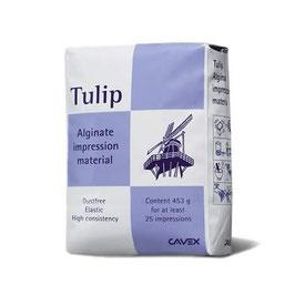 Alginato Tulip. Marca Cavex.