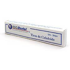 Tiras de celuloide ABC DENTAL