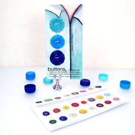 BottleCapButton sale blue