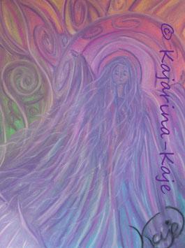 Persönlicher Naturgeist, Pastell- Poesie
