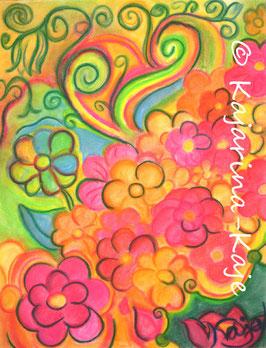 Harmoniebild, Pastell- Poesie