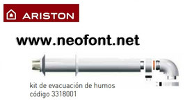 ARISTON KIT COAXIAL 60/100