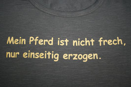 T-Shirt KL Flying Horse Ranch mit frechem Spruch