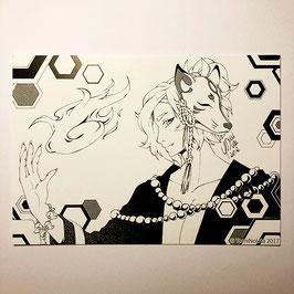 Fuchsmaske - Print