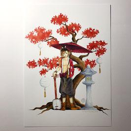 Ahornbaum - Print