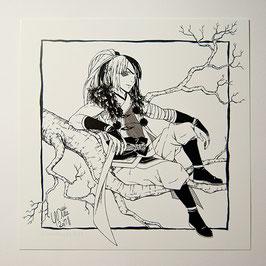 Yuuma - Print