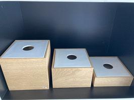 Holzboxen von Raumgestalt