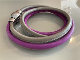 Wickelarmband von Qudo flieder /taube