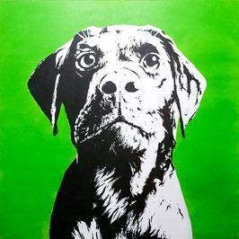 XXL Portrait - 100 x 100 cm