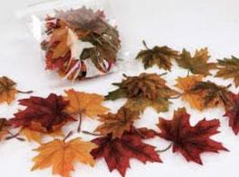 Formano Streudeko Blätter Herbst Tisch Deko Basteln Deko-Idee-Herbst
