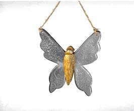 Formano Schmetterling Alu-Mango-Holz