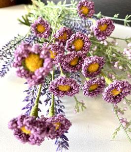 Wiesenstrauß komplett 3 verschiedene Blüten/Gräser
