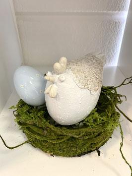 Formano Kranz Moos grün osterdeko Frühling in zwei Größen