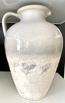 Formano Krug Vintage-grau mit passender Flaschenvase Vintage-grau Deko Garten Haus Diele