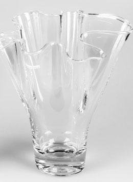 Formano Vase Welle Glas klar zauberhafte Form